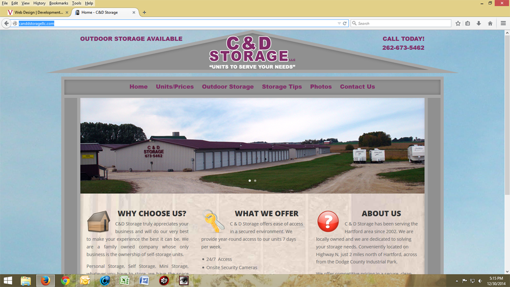 C & D Self Storage - Hartford, WI