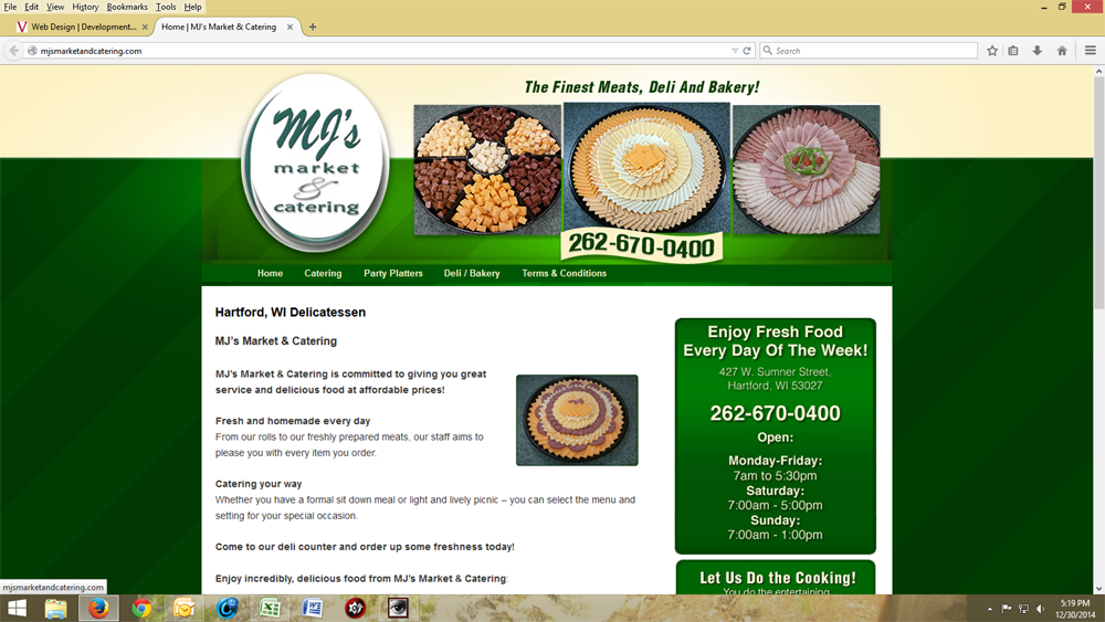 MJ's Market& Catering