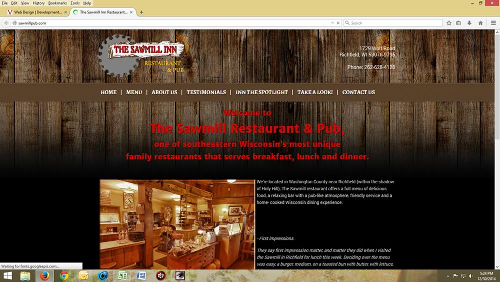 The Sawmill Pub & Restaurant
