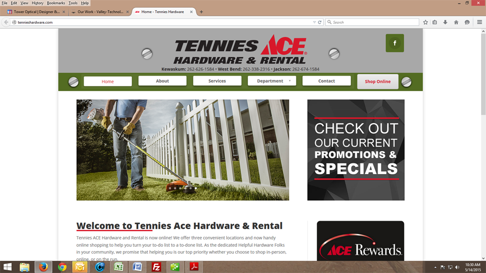 Tennies Ace Hardware & Rental