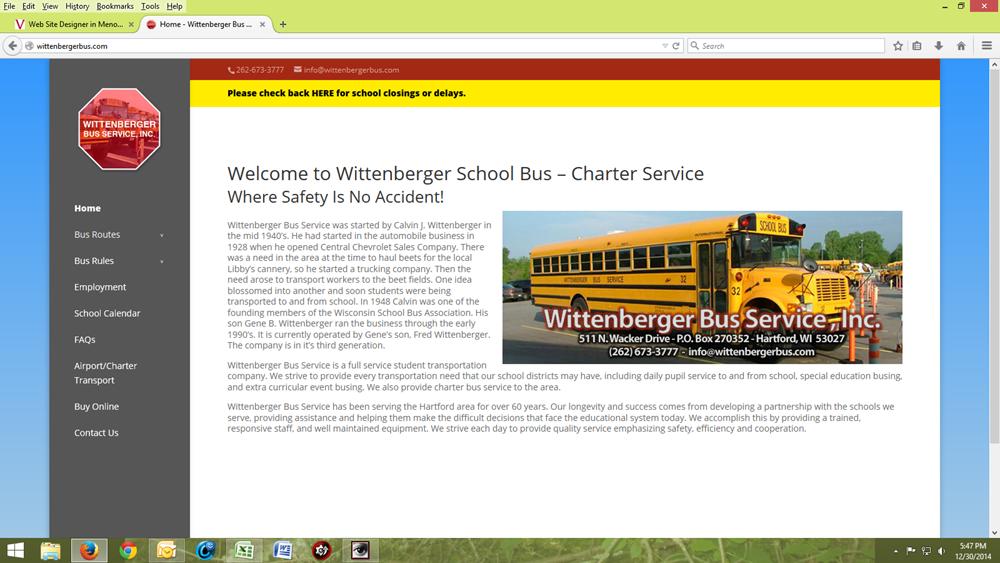 Wittenberger Bus