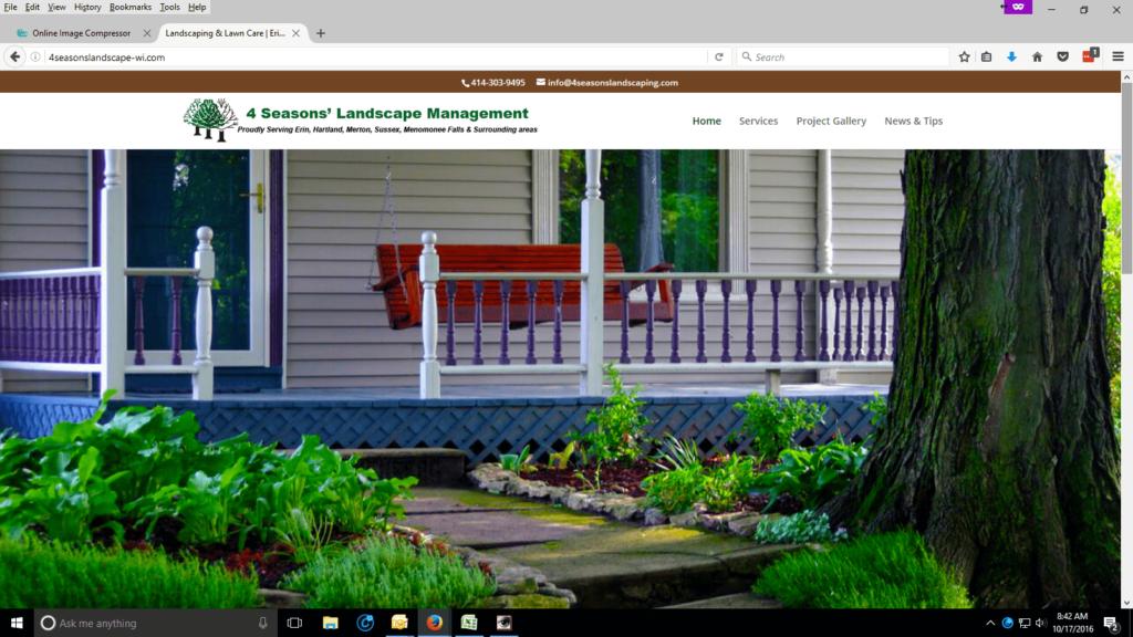 4 Seasons' Landscape Management