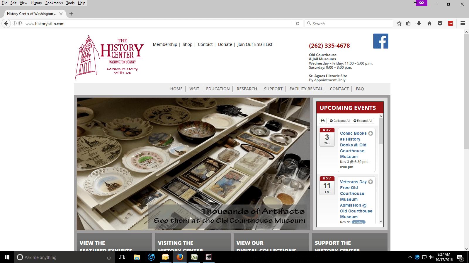 History Center of Washington County