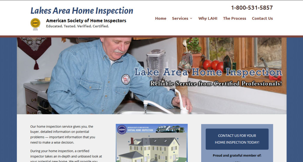 Lake Area Home Inspection